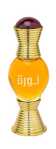 Noora Perfume Oil 20mL | Divine Oriental Composition of Sultry Floral, Honey, Orange and Sweet Notes | for Women and Men | Alcohol Free Attar, Vegan Fragrance | by Parfum Artisan Swiss Arabian Oud
