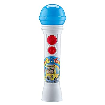 Mother Goose Club Karaoke Sing Along Microphone for Kids Built-in Music Flashing Lights Toy Microphone for Fans of Mother Goose Club Toys and Gifts