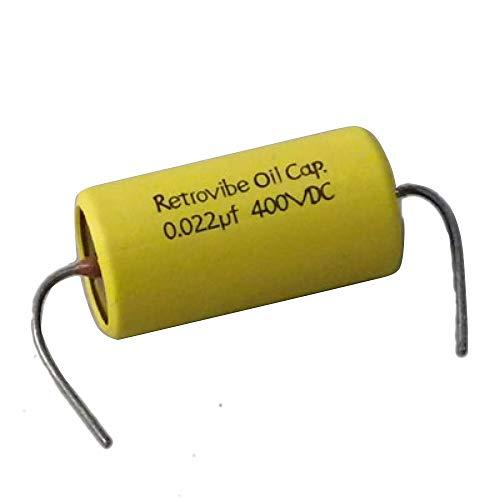 Montreux Retrovibe Oil Capacitor 0.022uF 400VDC Retrovibe Parts No.8671 コンデンサー