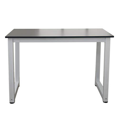 110 cm multifuncional escritorio de la computadora de madera negro diario trabajo en el hogar estudio hermosa práctica simple elegante mesa