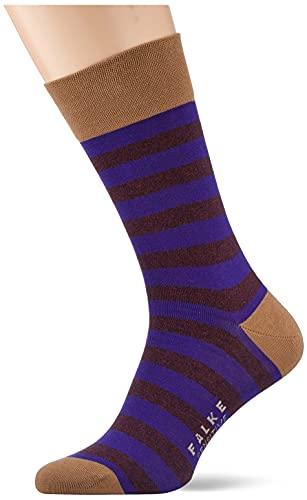 FALKE Herren Sensitive Mapped Line M SO Socken, Braun (Camel Melange 5300), 43-46