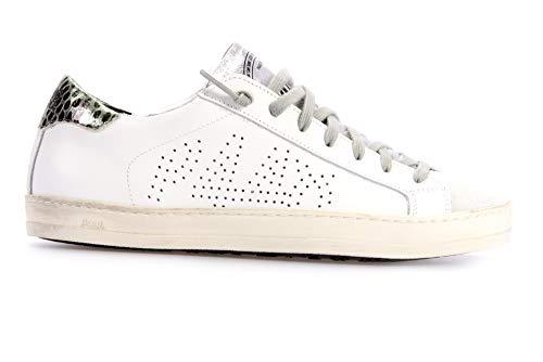 P448 Sneaker John White Schuhe Sneaker Damen White John 37