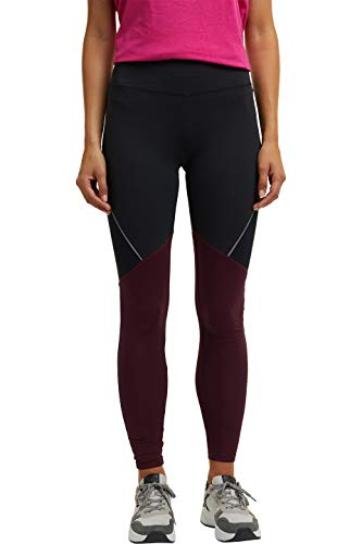 ESPRIT Sports Womens Tight Edry Sporty Pants, 001/Black, XS