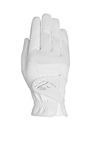 2X UNITED SPORTPRODUCTS GERMANY Unisexs RSL Reno Riding Gloves Xx-Small White