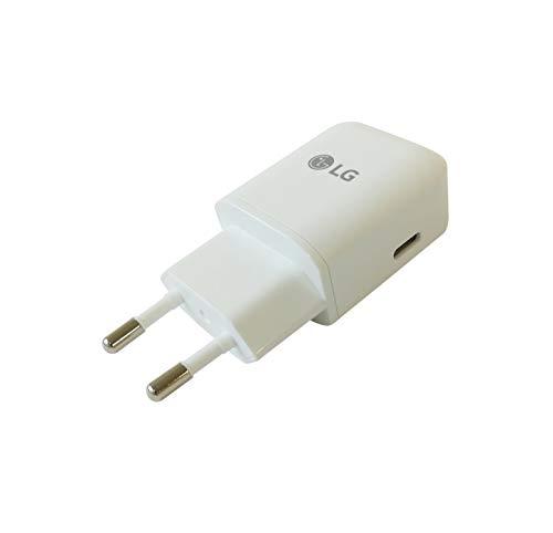 LG Cargador MCS-N04ER 5V/ 3A Tipo C Blanco con Cable USB Tipo C G5 Nexus 5X H791, Bulk