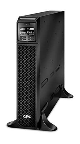 APC Smart-UPS SRT - SRT2200XLI - Gruppi di continuità (UPS) 2200VA - (8) IEC C13, (2) IEC C19, Console di controllo e stato LCD multifunzione