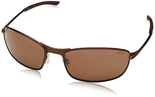 Revo Thin Shot 60mm High Contrast Polarized Serilium 8-Base Lens Technology Sunglasses, part of the Serilium Collection