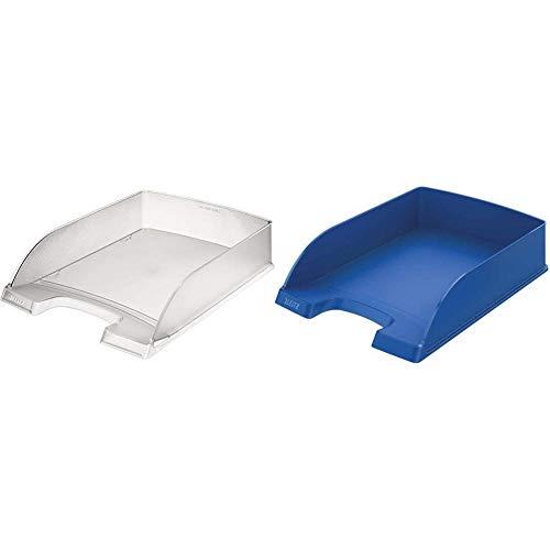 Leitz Briefkorb Standard Plus, A4, Polystyrol, frost & Briefkorb 5227-35 A4 Standard blau