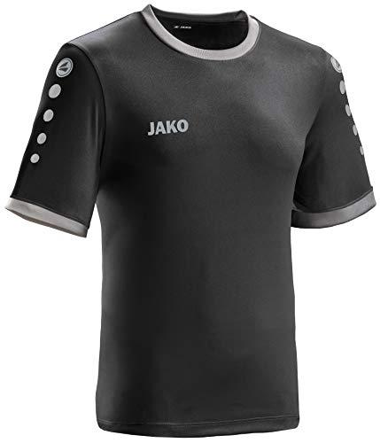 JAKO leichtes Team-Trikot schwarz-anthrazit Unisex für Kinder Größe 140 Casual oder Sport Shirt super Jungen und Mädchen