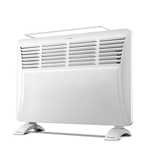 JCX Panel elektrische verwarming Intelligente badkamer Safe 2000W, 3 warmtestanden & veiligheidsuitschakeling, convectie-vlakke radiator voor thuis