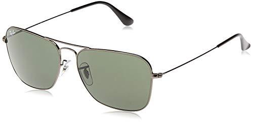 Ray-Ban RB3136 - Caravan, gafas de sol, unisex, color gris (gunmetal), 58 15