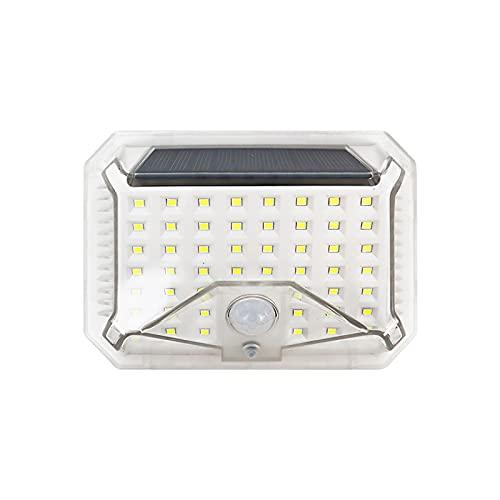 Sensor de seguridad automático, lámpara con sensor de movimiento solar Ip65, lámpara de pared impermeable para exteriores, 90 cuentas LED, luz de decoración de jardín para el hogar, jardín, patio.