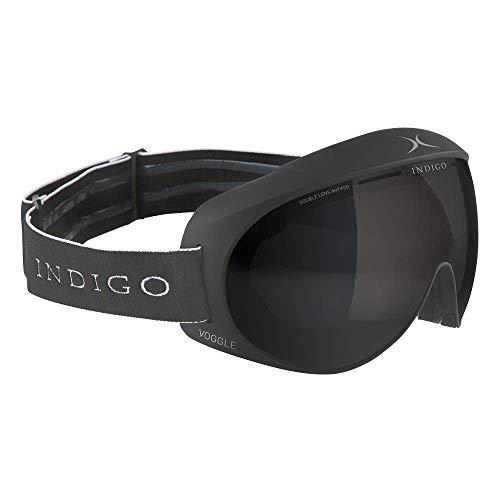 Indigo Voggle Smoke | Asian Fit | Titan | Ski & Snowboard Brille | Hochwertige Qualität