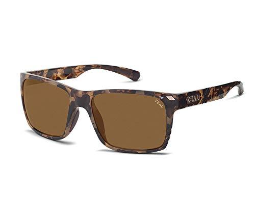 Zeal Optics Brewer Polarized Sunglasses - Colorado Tortoise Frame with Copper Lens