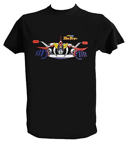 UZ Design T Shirt Goldrake UFO Robot Anime Manga Anni 70 80 Go Nagai, Uomo - 2XL