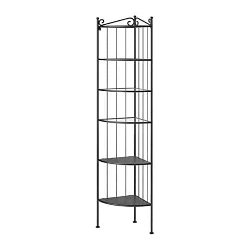 IKEA Ronnskar 600.937.65 - Estantería esquinera, color negro