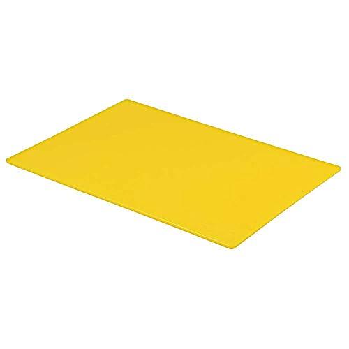 Professionelles Schneidebrett für Gastronomie und Lebensmittelzubereitung, Farbkodierung, Gelb