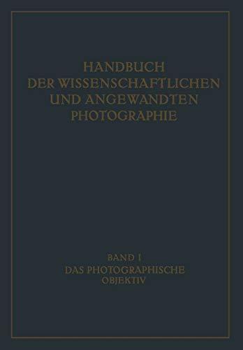 Das Photographische Objektiv (German Edition)