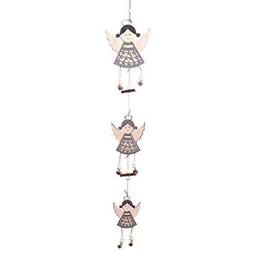 ZXXFR Ciondoli E Pendenti Natalizi,2Pz in Legno Ornamenti Natale Stella di Legno di Pino Ciondoli Cono Albero di Natale Ornamenti Caduta Decorazioni di Natale Decorazioni di Natale