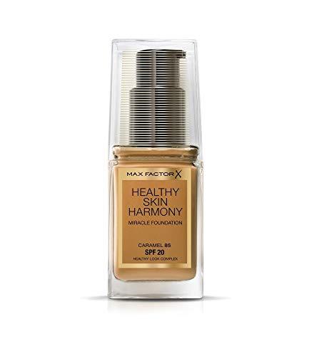 Max Factor Healthy Skin Harmony Base de Maquillaje Tono 85 Caramel - 146 gr