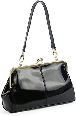 Vintage kiss lock handbags
