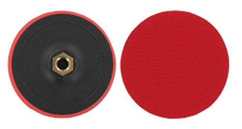 P-D-W Plato de lijado de 125 mm para discos abrasivos con velcro de 125 mm de diámetro, mandril de sujeción, M14 para taladro y atornillador inalámbrico