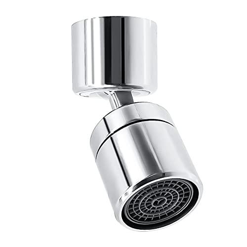 Grifo de Filtro de Salpicaduras Universal, Grifo de Salida de Agua Giratoria de 720 °, Rotatable Water Faucet Sprayer, Antisalpicaduras Grifo de Cocina