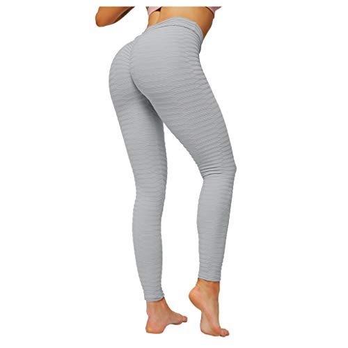 Great Deal! Butt Lifting Leggings - Scrunch Butt Shapewear Compression Leggings - Women Yoga Pants L...