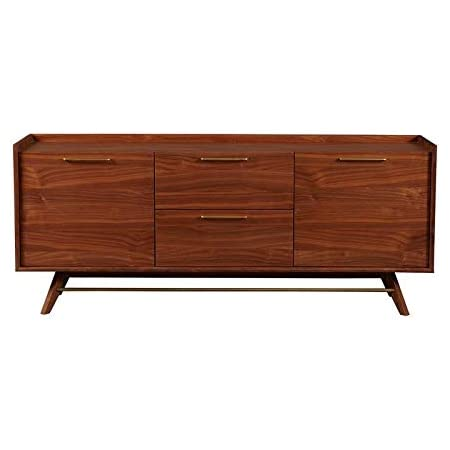 Moes Home Collection Vienna Sideboard Walnut Large