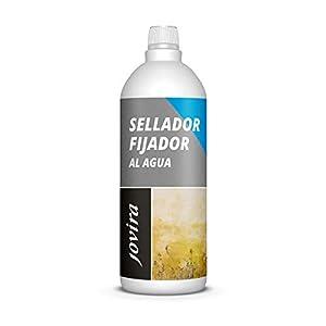 SELLADOR FIJADOR AL AGUA. Imprimación sellante incolora para fachadas y paredes pulverulentas o con caleo. (1 Litro)