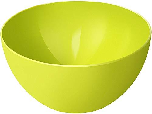 Rotho Caruba, pequeño tazón 3l, Plástico PP sin BPA, verde, 3l 22.5 x 22.5 x 11.0 cm