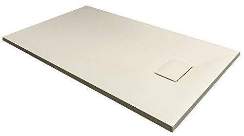 Piatto Doccia 80x140 cm Effetto Pietra Bonussi Slate Stone Beige
