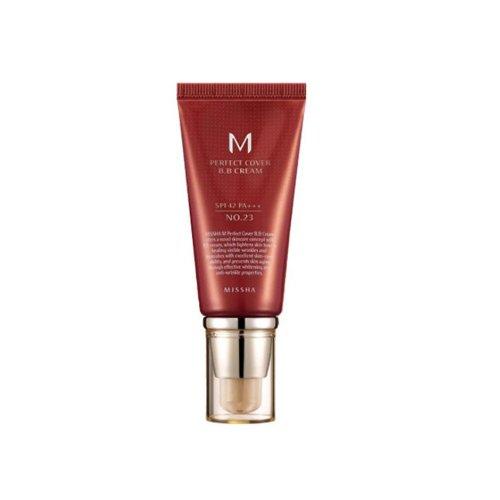 Korean Cosmetics, Missha, M Perfect Cover BB Cream nº 23 (Beige...
