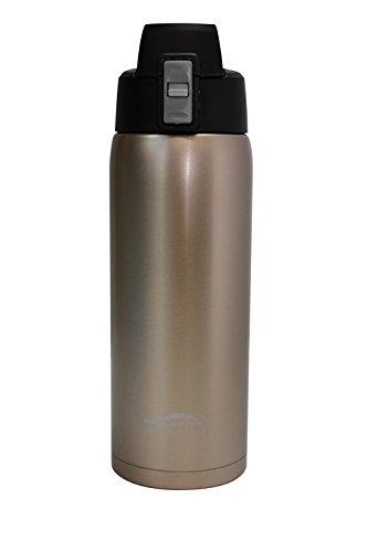 Aquatix Glittering Gold Insulated FlipTop Ultimate Sport Bottle 21 Ounce Pure Stainless Steel