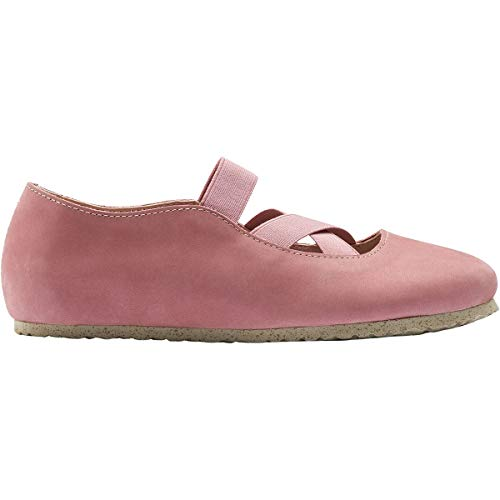 Birkenstock Women's Santa Ana 40 Narrow Old Rose Nubuck