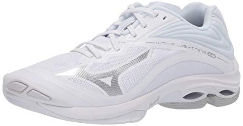 Mizuno Damen Wave Lightning Z6 Womens Volleyball-Schuh, Weiß, 40 EU