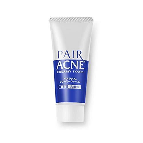 Japan Lion Pair Medicated Acne Care Acne Treatment Creamy Foam, Acne Cleanser Foam, 80g