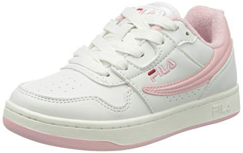 FILA Arcade JR buty sportowe dla dzieci, uniseks, biały - White Coral Blush - 31 EU