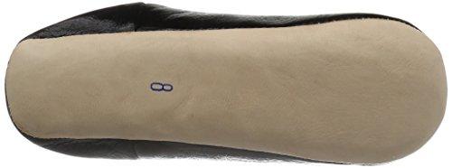 [ファティマモロッコ]バブーシュスマイル刺繍バブーシュLFM009ブラックJPL(24cm)