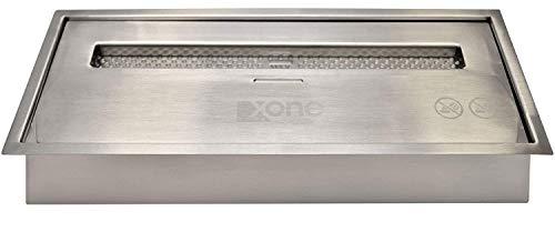 XONE Maxi Bruciatore da 3,5lt per biocamino | Bruciatore Fiamma intensa Garantita in Acciaio Inox per Camino al bioetanolo, Potenza di 4,58 kW/h, Autonomia dalle 4,5 alle 8 Ore