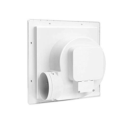 Bdesign Hogar de 8 Pulgadas Potente silencioso Ensayo de Escape del higiénico - Tipo de Techo de baño Tipo de Tubo de ventilación silencioso Ventilador de Escape Potente