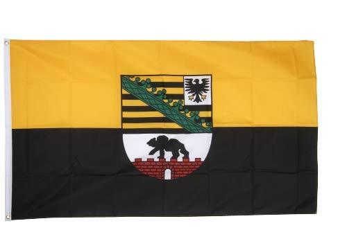 Flaggenfritze® Fahne Flagge Sachsen Anhalt 60 x 90 cm Premiumqualität