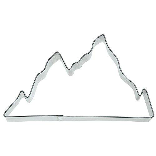 Städter Ausstechform, Weißblech, Silber, 30 x 30 x 30 cm