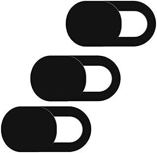 غطاء لكاميرا الويب بمصراع مغناطيسي، غطاء بلاستيك للكاميرا يناسب أجهزة ايفون والكمبيوتر واللاب توب وأجهزة الموبايل الذكية، ...