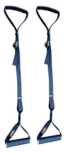 énergie Olympique gymnastique Poignées tractions SUSPENSION Gym Sangles / pour hommes / femme, AB poignées, à tirer avec Réglable Bracelet, barre fixation universel convient