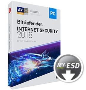 Bitdefender Internet Security | 3 Appareils | 1 An | ESD | Télécharger | Email