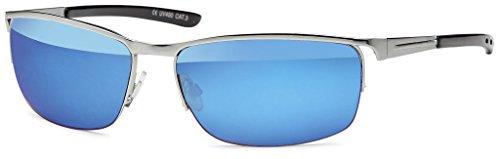 Emeco Matrix Style Revolution Neo 30009-G - Gafas de sol (efecto espejo), color azul