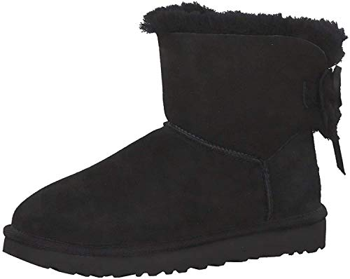 UGG Classic Double Bow Mini Botas para Mujer Negro 1103652BLK
