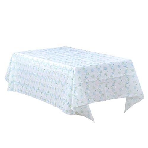 DyniLao manteles cuadrados resistentes al agua, rectangulares, antideslizantes, con estampado de vinilo, mantel de cocina, 54'x 72', n. ° 6