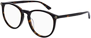 Gucci GG0027OA Plastic Phantos Eyeglasses 52 mm
